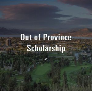 Out of Province scholarship